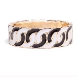 Black White Statement Bracelet NEW